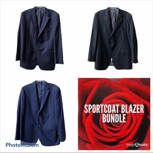 Other - Sportcoat Bundle 44L Hickey Freeman LRL Jos A Bank